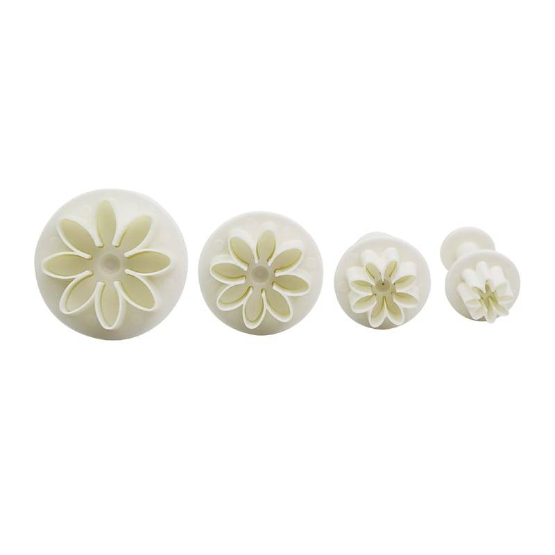 4pcs Plum Flower Plunger Cutter Set No.3 Featured Image