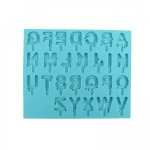 Alphabet Silicone Fondant Mold For Chocolate Candy DIY CM-4448