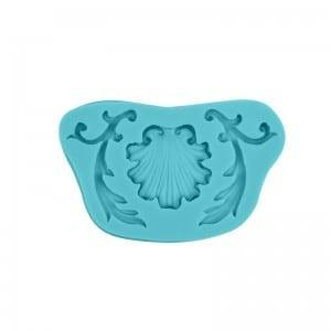 Leaf & Shell cake decoration chocolate fondant silicone mold CM-4392