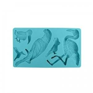 Bird shape silicone fondant chocolate DIY mold CM-4464