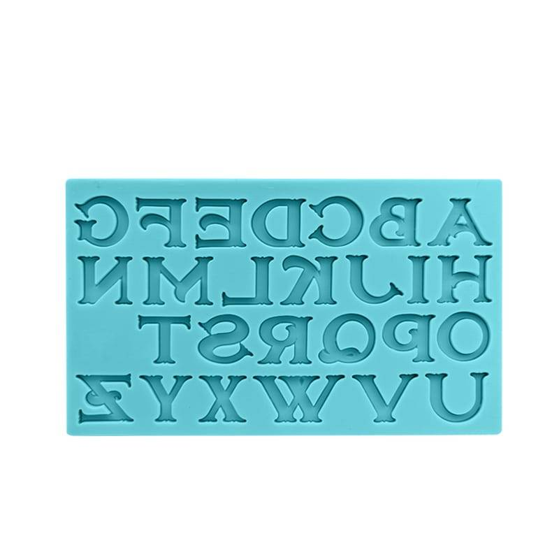 Alphabet Silicone Mold CM-4468 Featured Image
