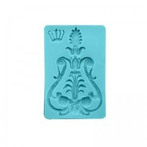 Mirror frame chocolate fondant silicone mold CM-4416