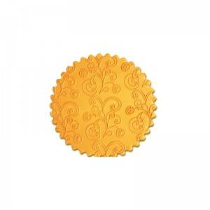 Custom pattern non-stick cake acrylic fondant decorative textured embossing rolling pin-CQ-455