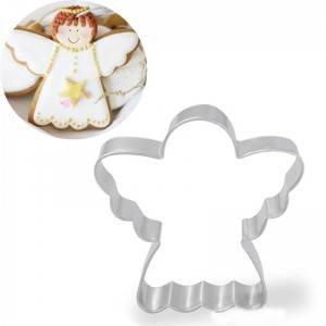 Angel Cookie Cutter in Durable Economical Stainless Steel