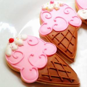 ice cream stainless steel cookie cutter