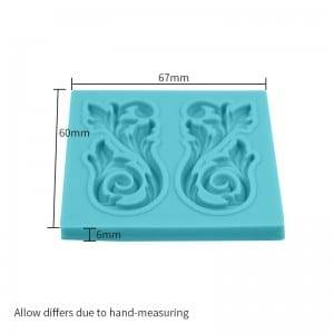 Flower cake decoration chocolate fondant silicone mold CM-4402