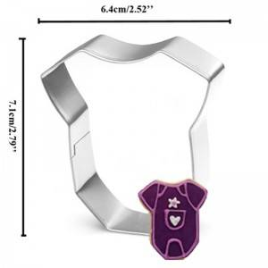Baby Cloth Cookie Cutter