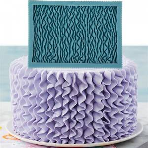 Simpress Silicone Mold Cake Decorating with Fondant Gum Paste Icing