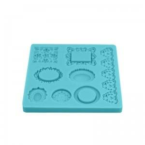 Jewelry cake decoration chocolate fondant silicone mold CM-4402