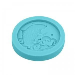 Fish chocolate fondant silicone mold CM-4421