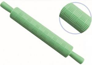 Rolling pin for baking with designs -8012