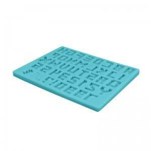 Ready-Made Alphabet Silicone Fondant Mold CM-4460