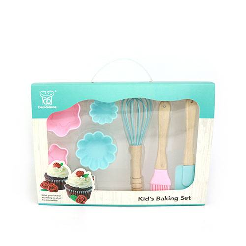 Mini-silicone-spatula-children-DIY-baking-tools