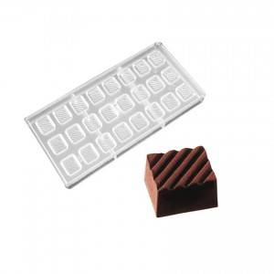 Baking tools supplies chocolate bar mold polycarbonate bake ware- PC-1721