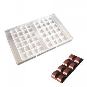 Baking tools supplies chocolate bar mold polycarbonate bake ware- PC-1036