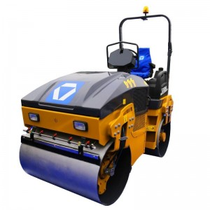 XCMG mini double wheel road roller XMR303S/403S