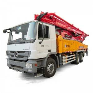 48m truck-mounted concrete pump HB48K