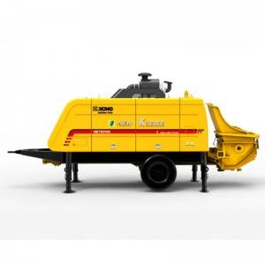 Trailer Concrete Pump HBT8016KD