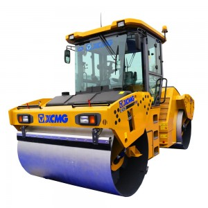 XCMG double drum road roller XD123