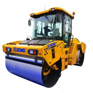 XCMG double drum road roller XD143