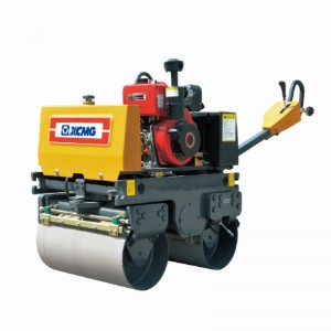 XCMG mini double wheel road roller XMR083