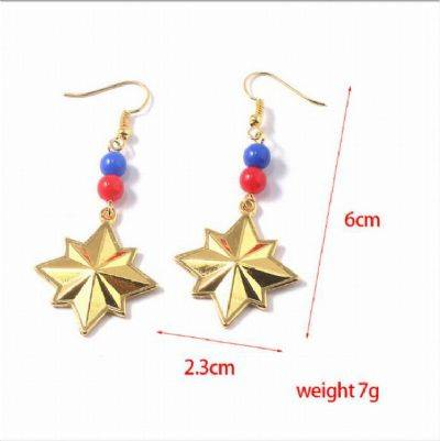 The Avengers Captain Marvel Earrings