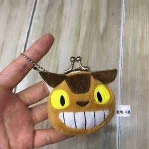 totoro anime plush bag