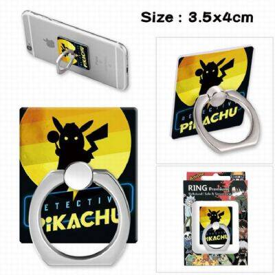 Detective Pikachu Ring holder for mobile phone 3.5