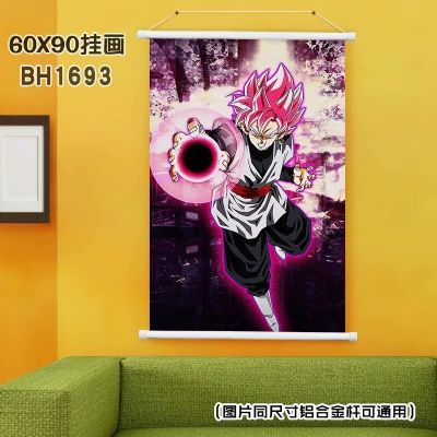 dragon ball anime wallscroll