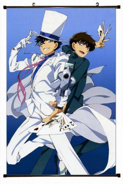 Detective Conan Plastic pole cloth painting Wall S