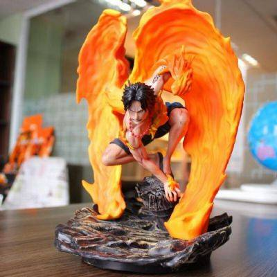 One Piece Ace Rebirth from the fire Boxed Figure D