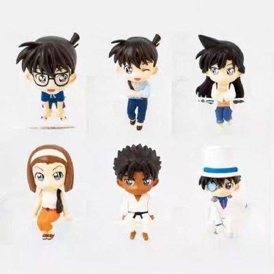 Detective Conan a set of six Along the cup series
