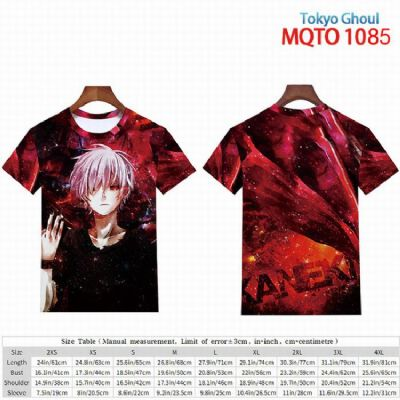 Tokyo Ghoul full color short sleeve