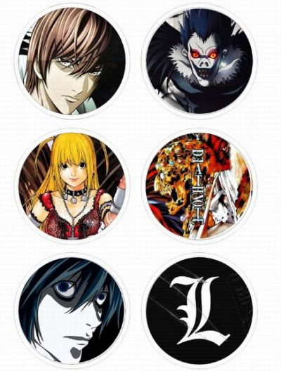 Death Note Anime brooch