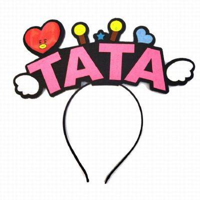 BTS Around the Korean star TATA Headband