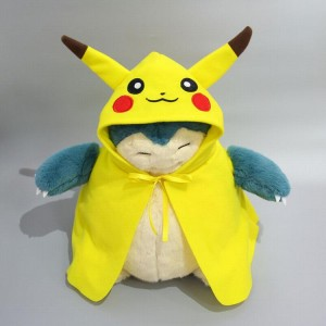 Pokemon Pikachu Snorlax Plush doll pendant