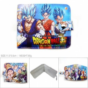 Dragon Ball Super Toriyama Akira Full color short Snap button Wallet