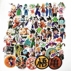 dragon ball anime sticker