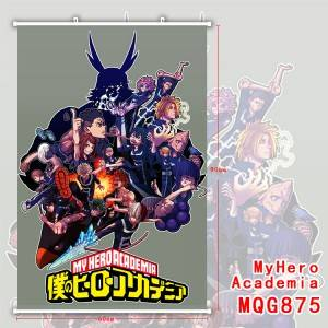 my hero academia anime wallscroll 60*90cm
