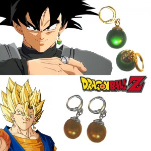 Dragon Ball Super Zamasu Goku Black Supreme Kai Potara earrings (Vegetto) Anime Cosplay Accessories