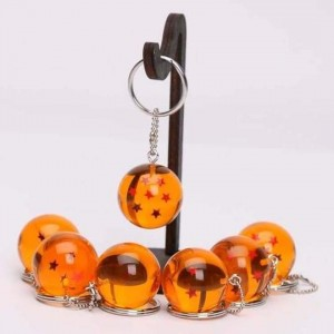 Dragon Ball 7 zvezdice anime keychain