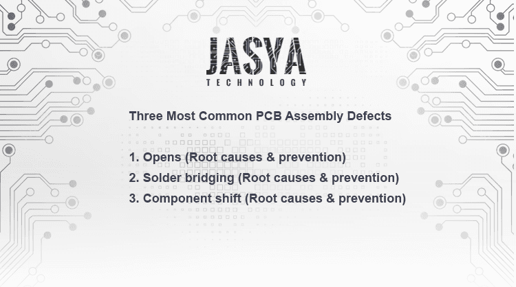 How many PCB Assembly Defects?