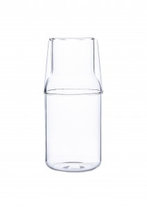400ml 550ml glass bottle juice carafe with cup carafe high borosilicate