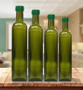 250ml 500ml 750ml olive greeen olive oil bottle