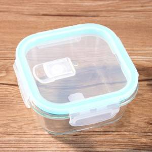 china manufacture glass lunch storage containers box