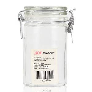 Glass Jar with snap joint for customized size