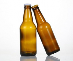 whole sale 330ml 500ml 600ml 1000ml amber beer bottle