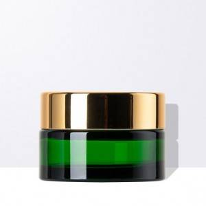 The Green Cosmetic Glass Jar