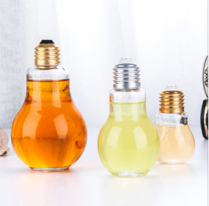 18 Years Factory Juice Bottle Packaging - The Light Bulb Glass Bottle  – Credible