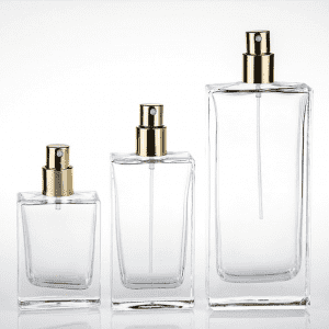 Factory For Glass Perfume Diffuser Bottle - 30ml 50ml 100ml square perfume bottle – Credible